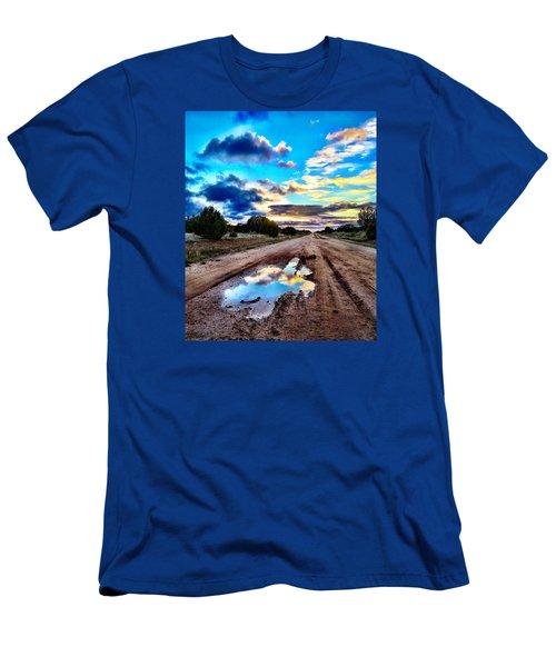 Golden Hour Pool Men's T-Shirt (Athletic Fit)