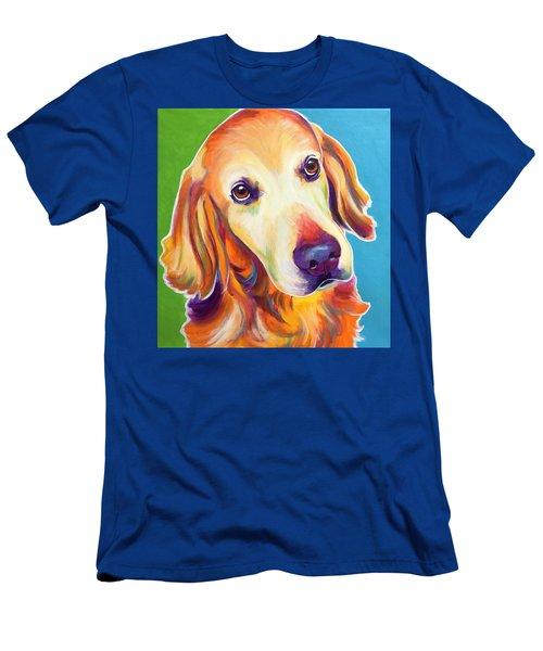 Golden Retriever - Jackson Men's T-Shirt (Athletic Fit)