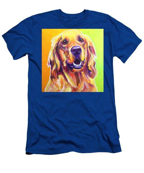 Golden Retriever - Jasper Men's T-Shirt (Athletic Fit)