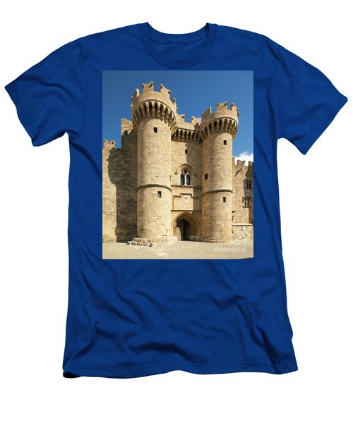 Grandmaster Palace Rhodes Island Greece 1 Men's T-Shirt (Slim Fit) by Rudi Prott
