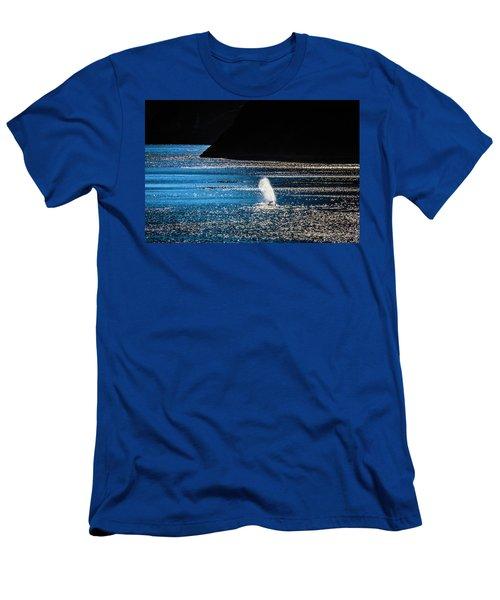 Gray Whale Mist Men's T-Shirt (Athletic Fit)