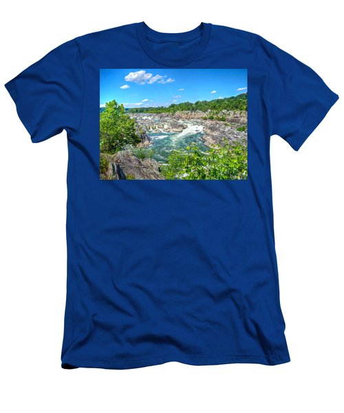 Great Falls On The Potomac Men's T-Shirt (Athletic Fit)