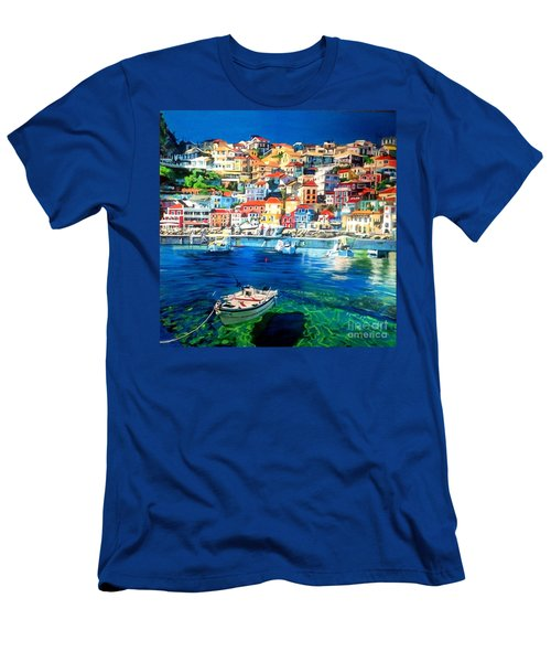 Greece Men's T-Shirt (Athletic Fit)
