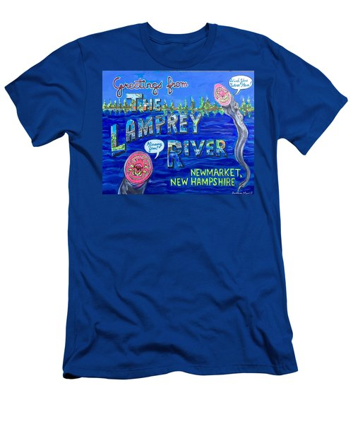 Greetings From The Lamprey River Men's T-Shirt (Athletic Fit)
