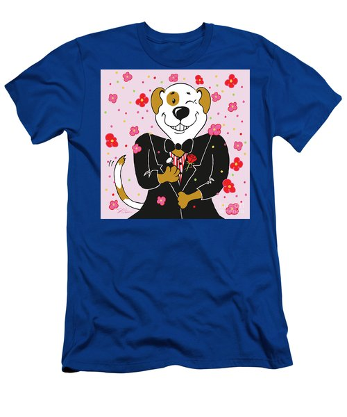 Groom Dog Men's T-Shirt (Athletic Fit)