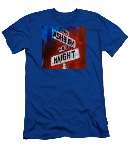 Haight And Ashbury Men's T-Shirt (Athletic Fit)