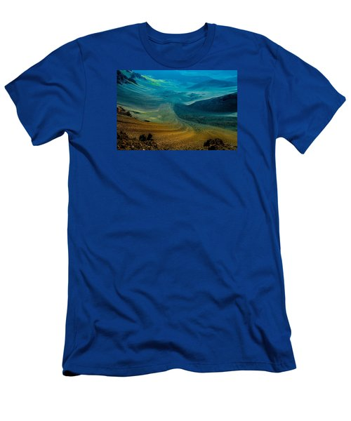 Men's T-Shirt (Slim Fit) featuring the photograph Haleakala by M G Whittingham