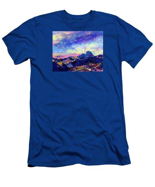 Half Dome Summer Sunrise Men's T-Shirt (Slim Fit) by Walter Fahmy