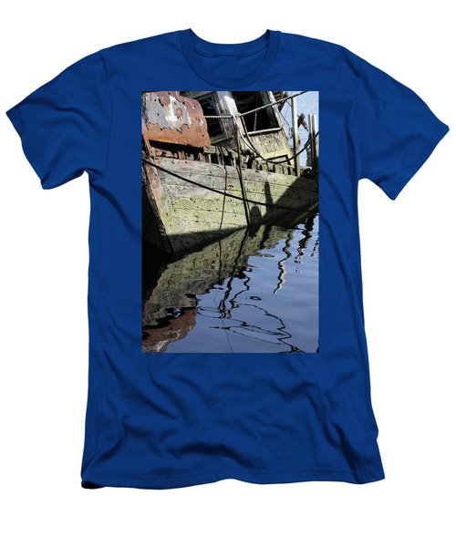 Half Sunk Boat Men's T-Shirt (Athletic Fit)