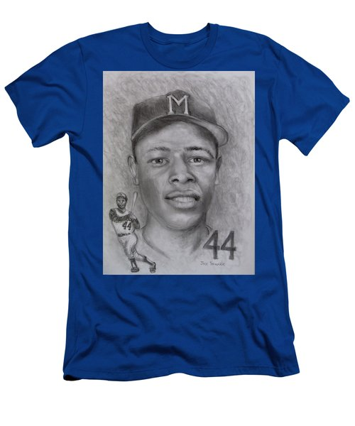 Men's T-Shirt (Slim Fit) featuring the drawing Hank by Jack Skinner