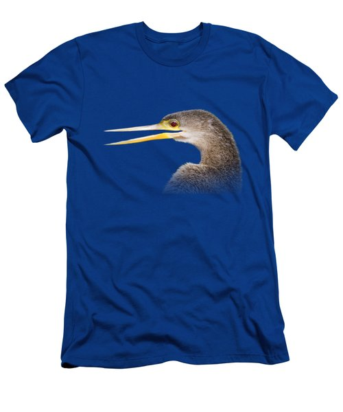 Happy Anhinga Men's T-Shirt (Athletic Fit)