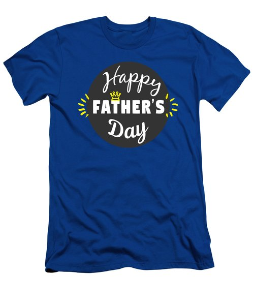 Happy Father's Day Men's T-Shirt (Athletic Fit)