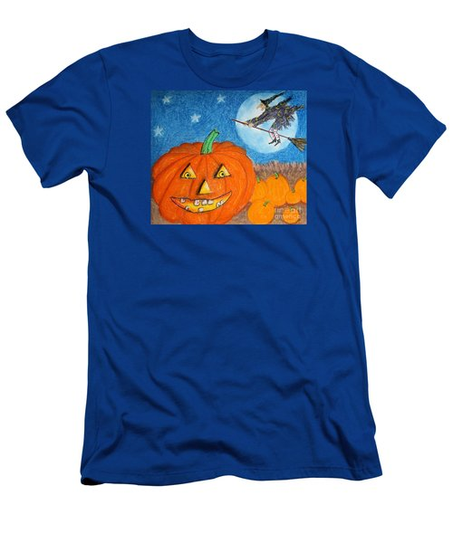 Happy Halloween Boo You Men's T-Shirt (Athletic Fit)