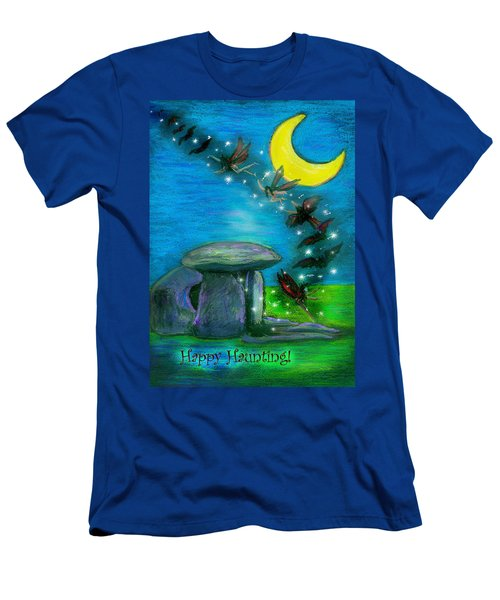 Happy Haunting Men's T-Shirt (Athletic Fit)