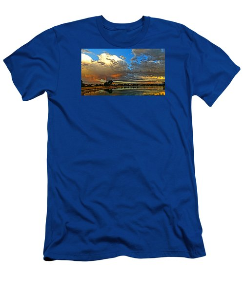 Men's T-Shirt (Slim Fit) featuring the photograph Harper Lake by Eric Dee