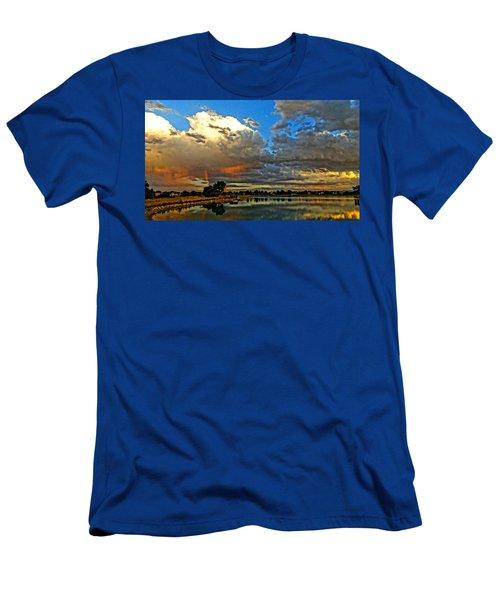 Harper Lake Men's T-Shirt (Athletic Fit)