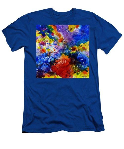 Head Over Feet Men's T-Shirt (Slim Fit) by Tracy Bonin