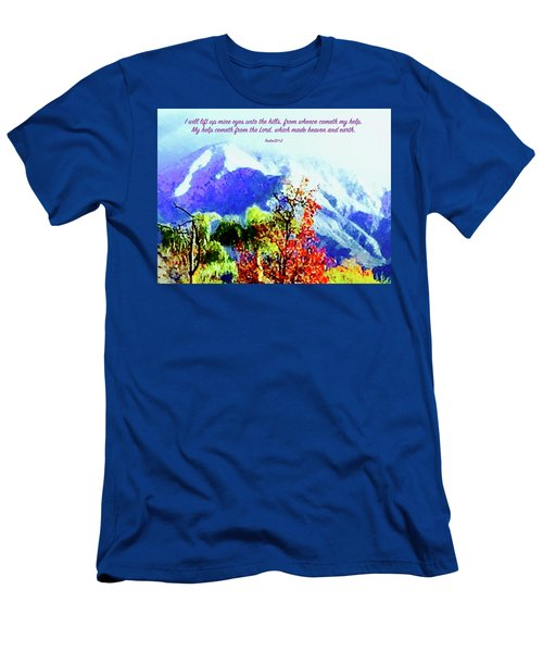 Heaven And Earth Men's T-Shirt (Slim Fit) by Russell Keating