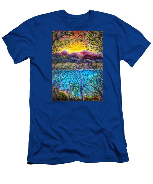 Hidden Lake Men's T-Shirt (Athletic Fit)