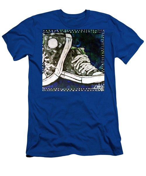 High Top Heaven Men's T-Shirt (Slim Fit) by Jackie Carpenter