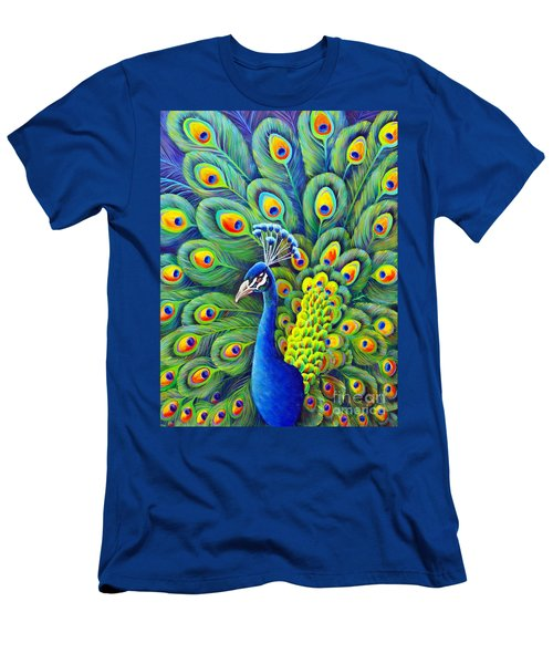 Men's T-Shirt (Athletic Fit) featuring the painting His Splendor by Nancy Cupp