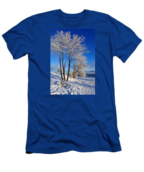 Hoarfrost  Men's T-Shirt (Athletic Fit)