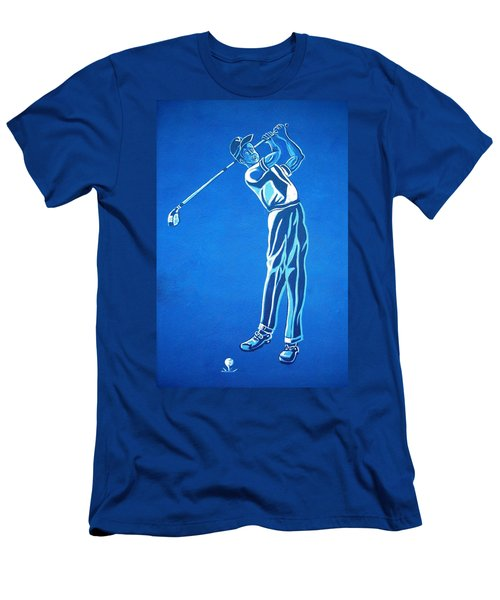 Men's T-Shirt (Slim Fit) featuring the photograph Hole In One ... by Juergen Weiss