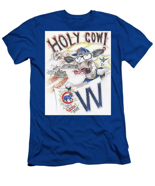 Holy Cow  Men's T-Shirt (Slim Fit) by Scott and Dixie Wiley