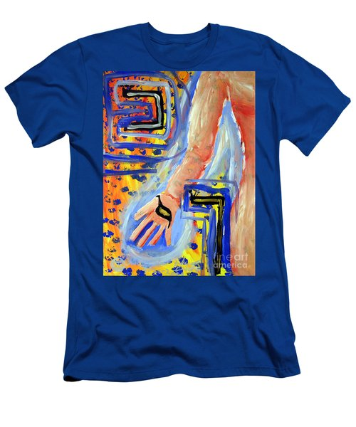 Honesty Men's T-Shirt (Slim Fit) by Luke Galutia