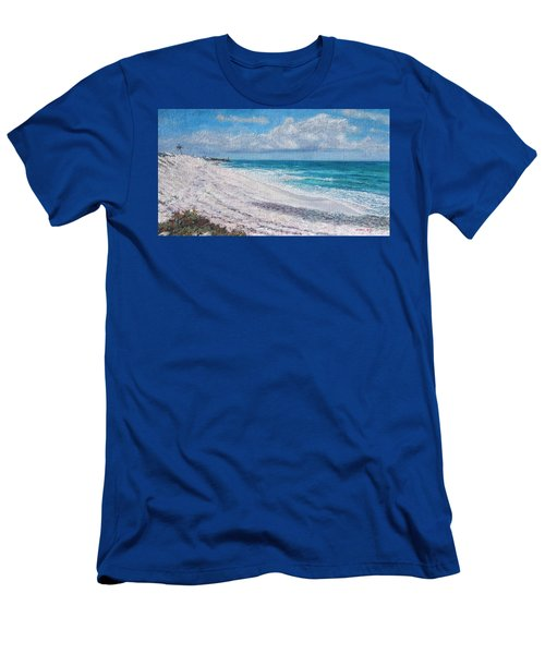 Hope Town Beach Men's T-Shirt (Athletic Fit)