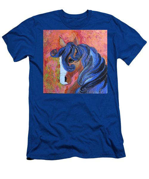 Horse Of A Different Color Men's T-Shirt (Athletic Fit)