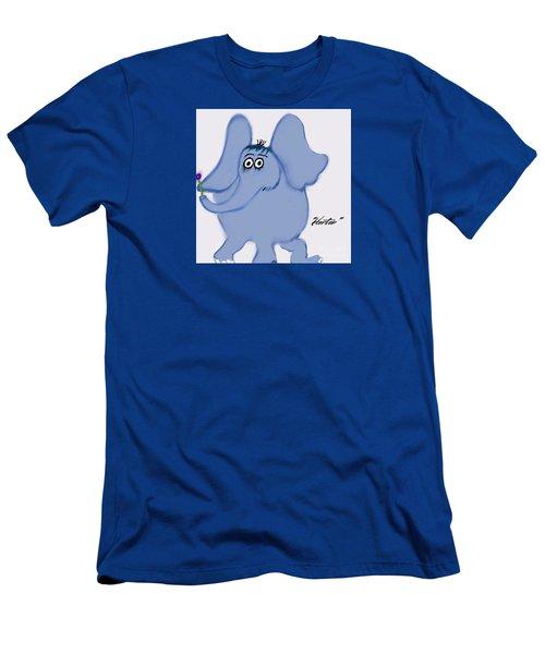 Horton Men's T-Shirt (Slim Fit) by Susan Garren