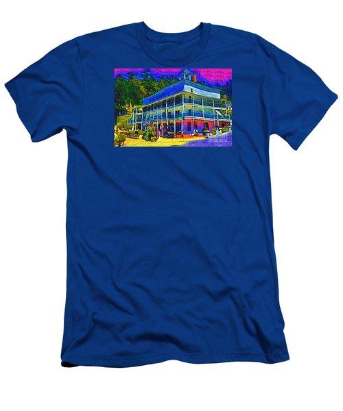 Hotel De Haro Men's T-Shirt (Athletic Fit)