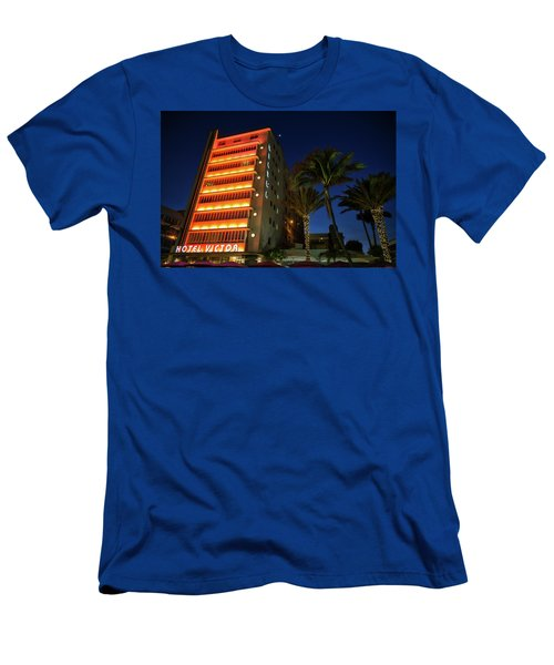 Hotel Victor South Beach Men's T-Shirt (Athletic Fit)