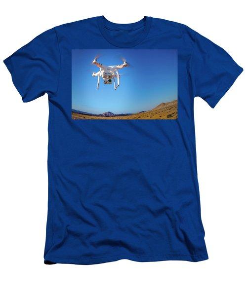 Hover Men's T-Shirt (Slim Fit) by Mark Dunton