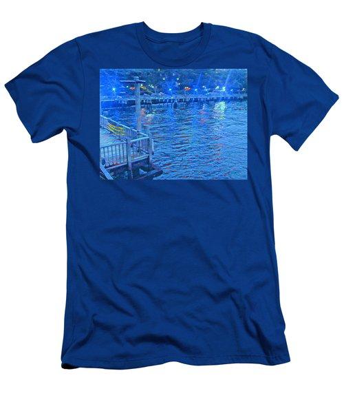 Hudson Electric Men's T-Shirt (Athletic Fit)