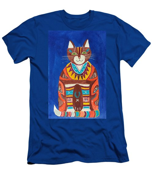 Huey Cat Men's T-Shirt (Athletic Fit)