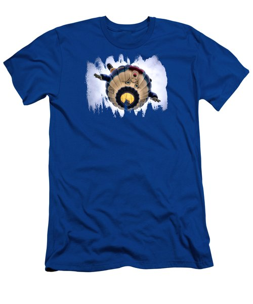 Humpty Dumpty Hot Air Balloon Men's T-Shirt (Athletic Fit)