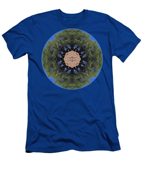 I Will Survive Tree Kaleidoscope Men's T-Shirt (Athletic Fit)