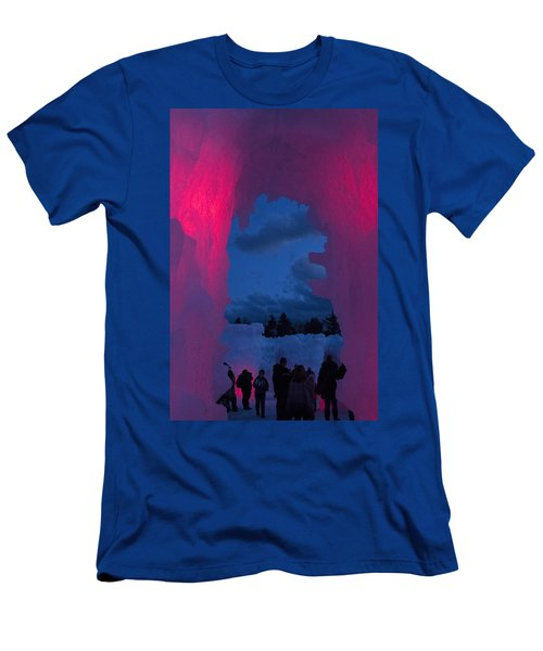 Ice And Colors  Men's T-Shirt (Slim Fit) by Betty Pauwels