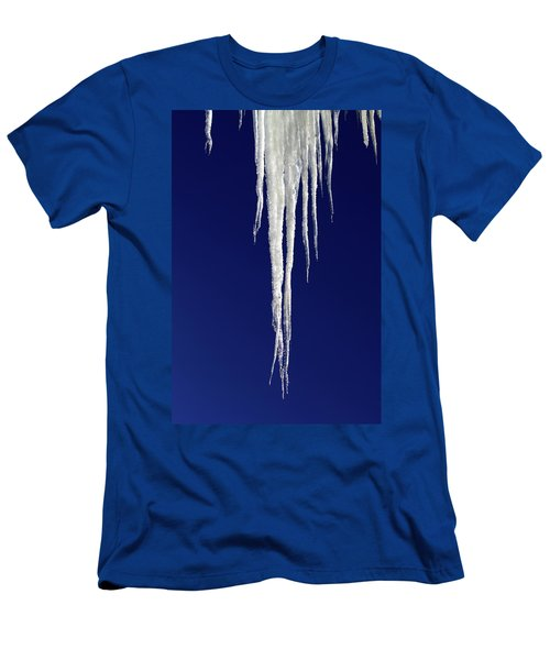 Men's T-Shirt (Athletic Fit) featuring the photograph Icicles by Shane Bechler