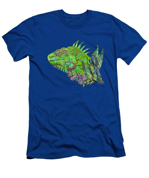 Iguana Cool Men's T-Shirt (Athletic Fit)
