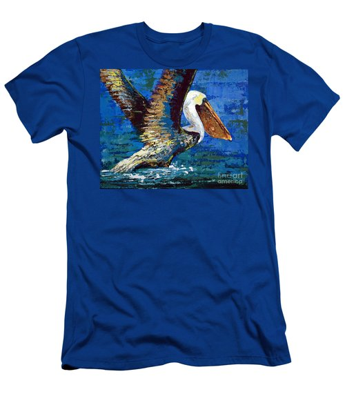 Men's T-Shirt (Slim Fit) featuring the painting Im Outa Here by Suzanne McKee
