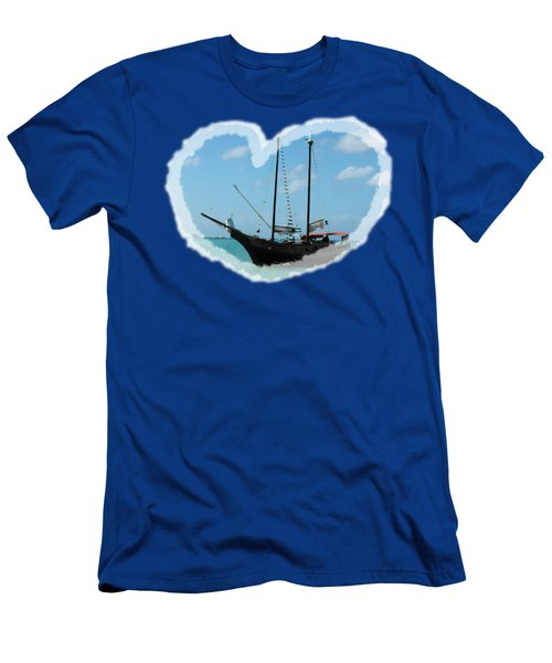 In My Heart Men's T-Shirt (Slim Fit) by David and Lynn Keller