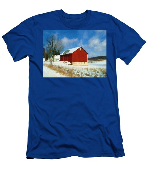 In The Throes Of Winter Men's T-Shirt (Athletic Fit)