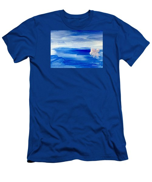 Men's T-Shirt (Slim Fit) featuring the painting In This Sea Of Life by Trilby Cole