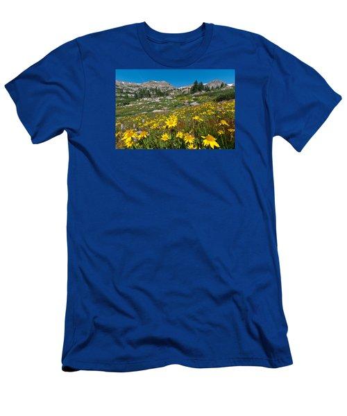 Indian Peaks Summer Wildflowers Men's T-Shirt (Athletic Fit)