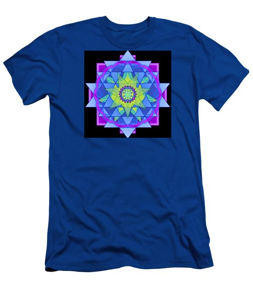 Inner Light Mandala Men's T-Shirt (Slim Fit)