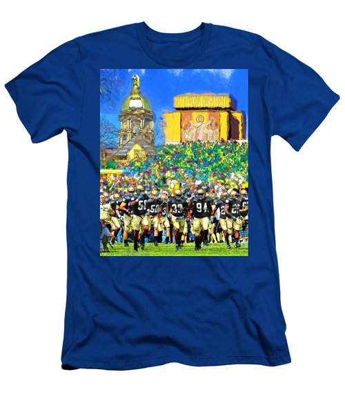 Irish Run To Victory Men's T-Shirt (Athletic Fit)