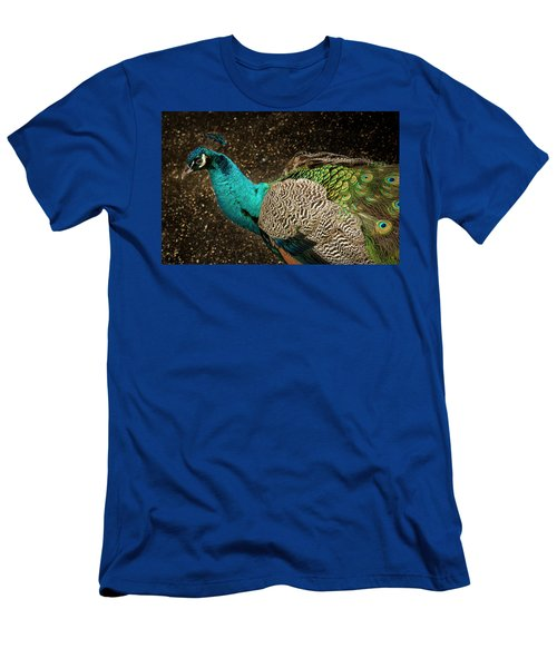 Men's T-Shirt (Slim Fit) featuring the photograph Is She Looking ? by Jean Noren
